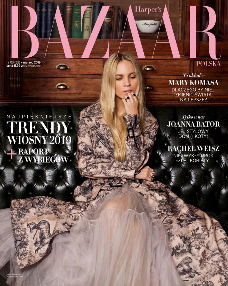 Max vom Hofe  Harpers Bazaar Poland
