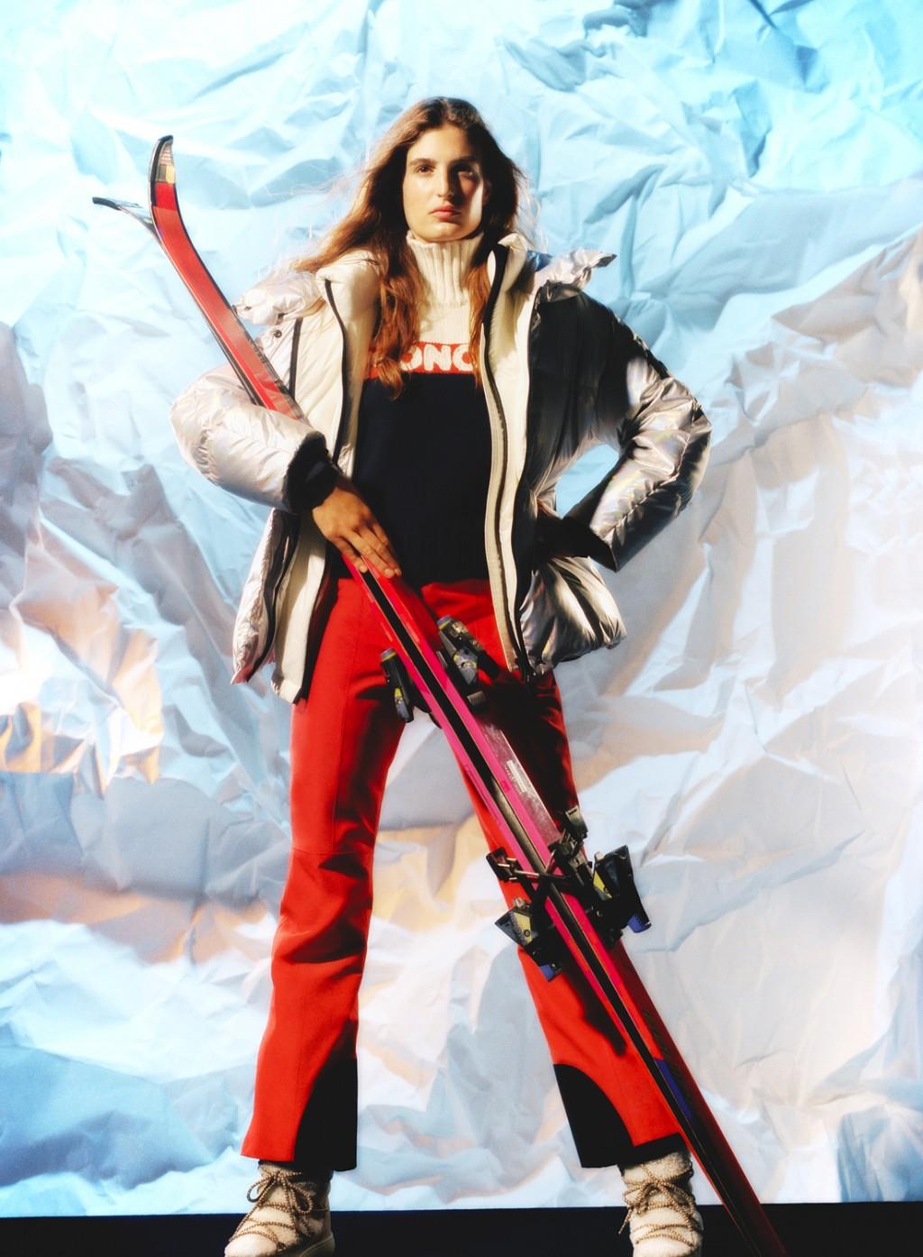 Max vom Hofe  mytheresa ski campaign 2020
